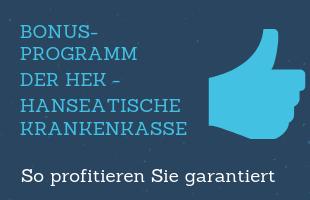 Bonusprogramm HEK – Hanseatische Krankenkasse