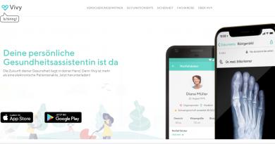 Vivy – Deine elektronische Gesundheitsakte