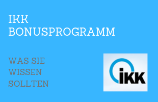 IKK Bonusprogramm