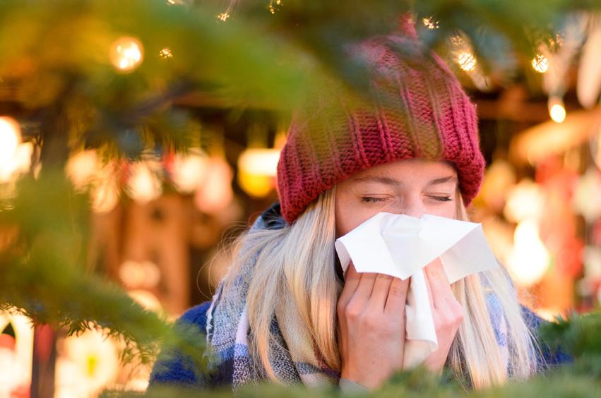 Trotz Krankschreibung auf den Weihnachtsmarkt