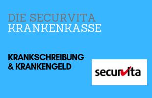 Securvita Krankengeld & Krankschreibung